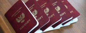 Паспорт ДНР