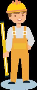 Желтый рабочий